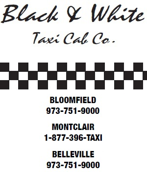 Black and White Taxi